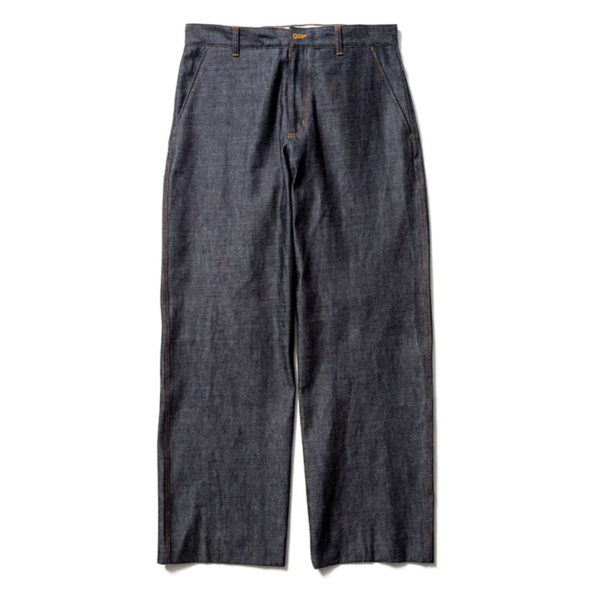 DENIM SLACKS NAVY