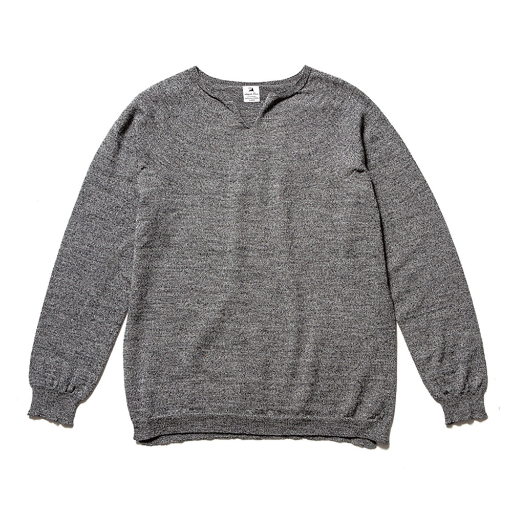 HIGH GAUGE SEAMLESS CREWNECK KNIT