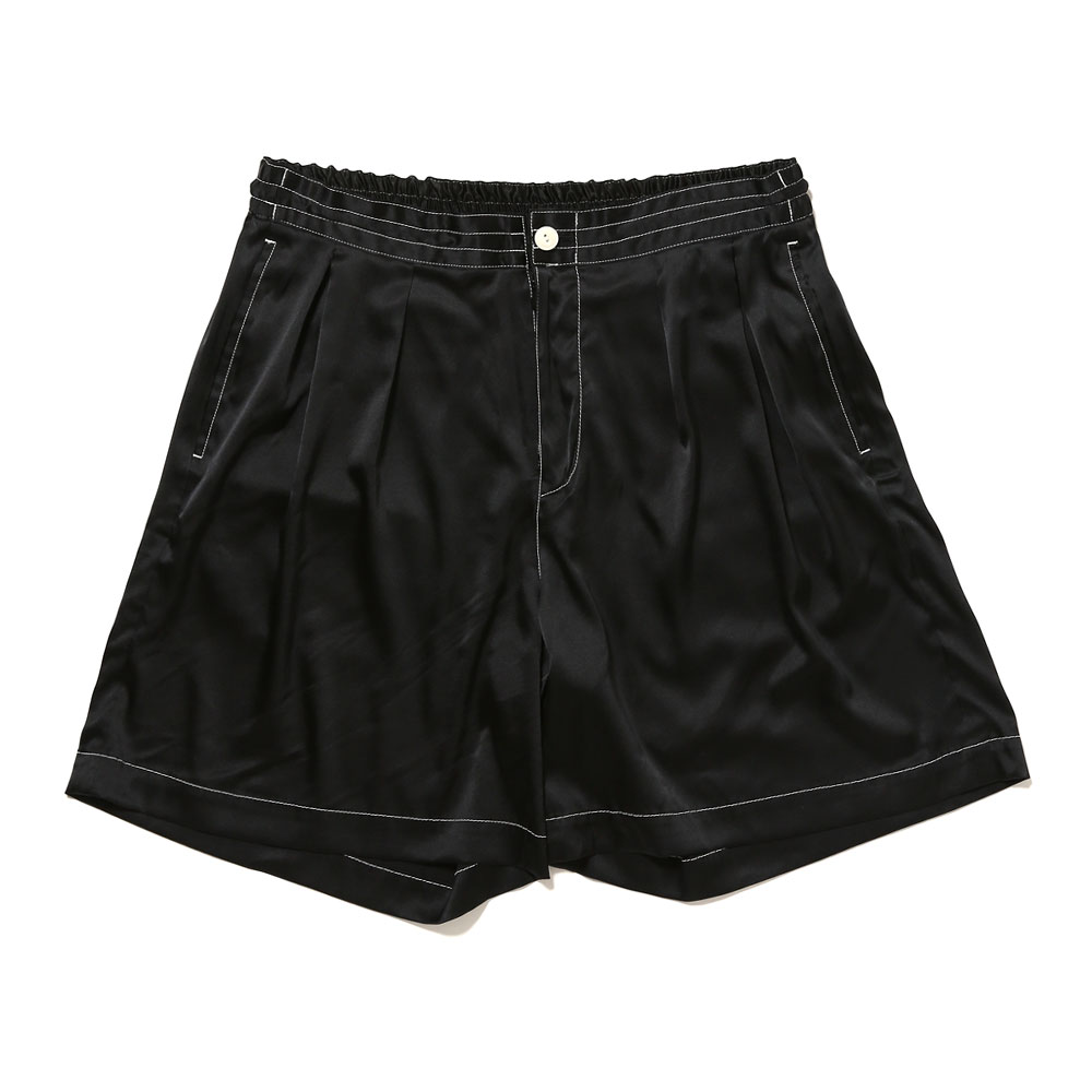 SILK SAFARI SHORTS BLACK