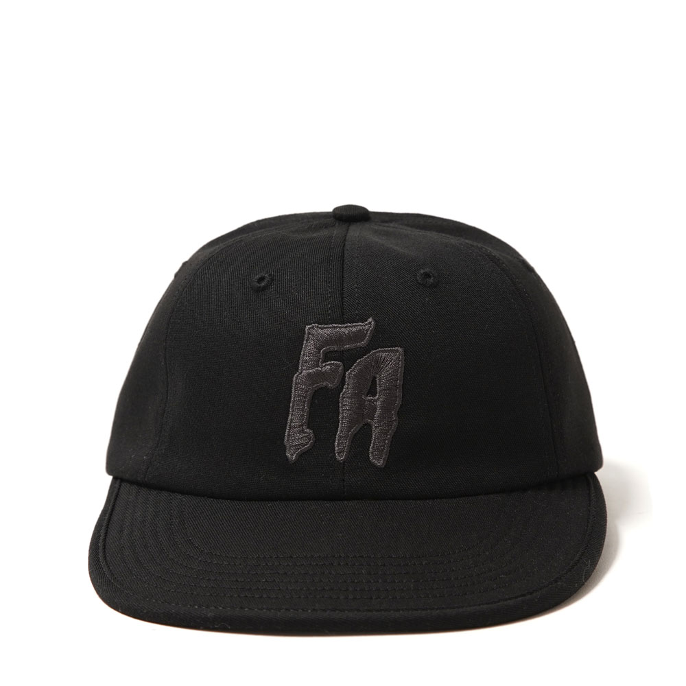 FA FORMLESS 6-PANEL HAT BLACK