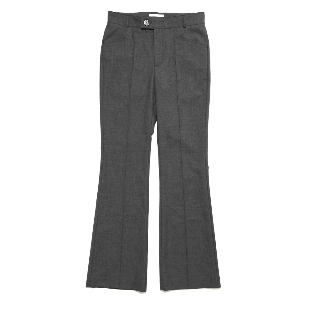 FLARE TROUSERS GREY
