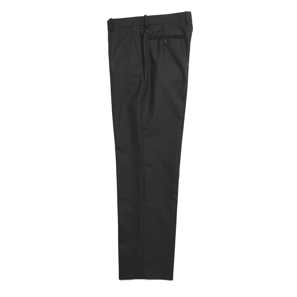 BLUEFACED WOOL SLACKS A20A02BH TOP CHARCOAL