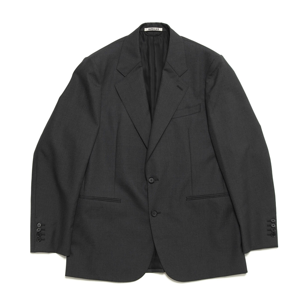BLUEFACED WOOL JACKET A20AJ01BH TOP CHARCOAL