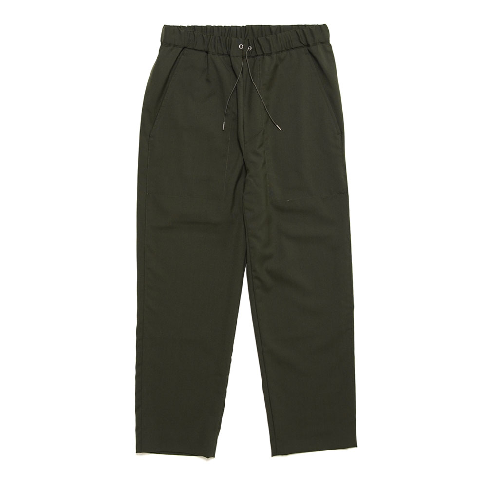 DRAWCORD PANT DEEP GREEN