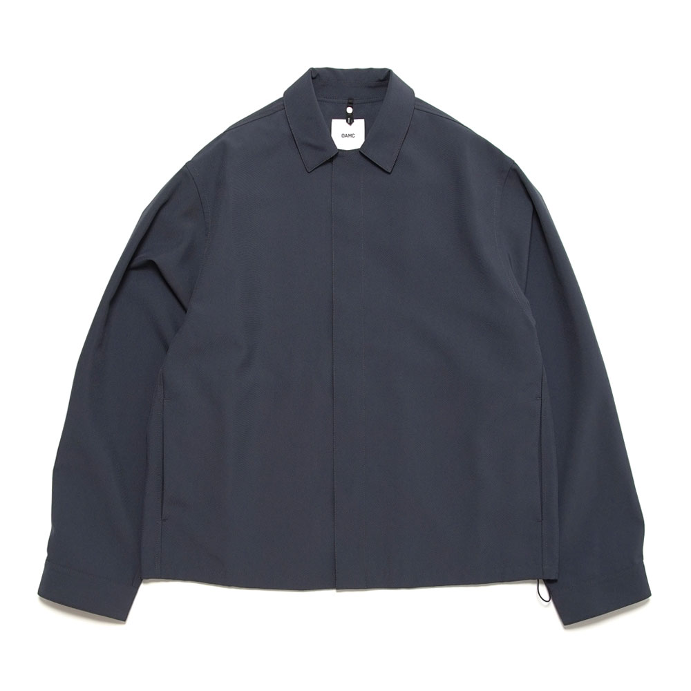 SYSTEM SHIRT CHARCOAL BLUE