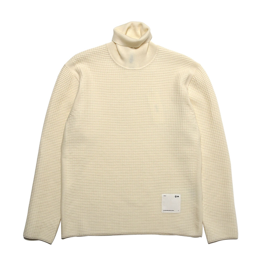 SPIRIT ROLLNECK KNITTED NATURAL WHITE
