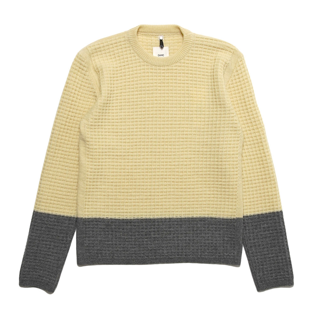 EMILE CREWNECK KNITTED INDUSTRIAL YELLOW