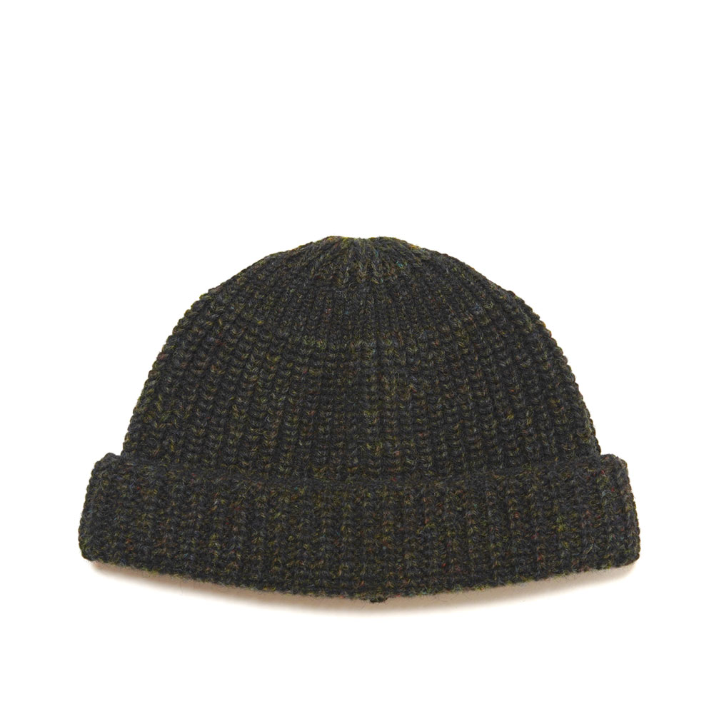 HENRY BEANIE KNITTED MILITARY GREEN