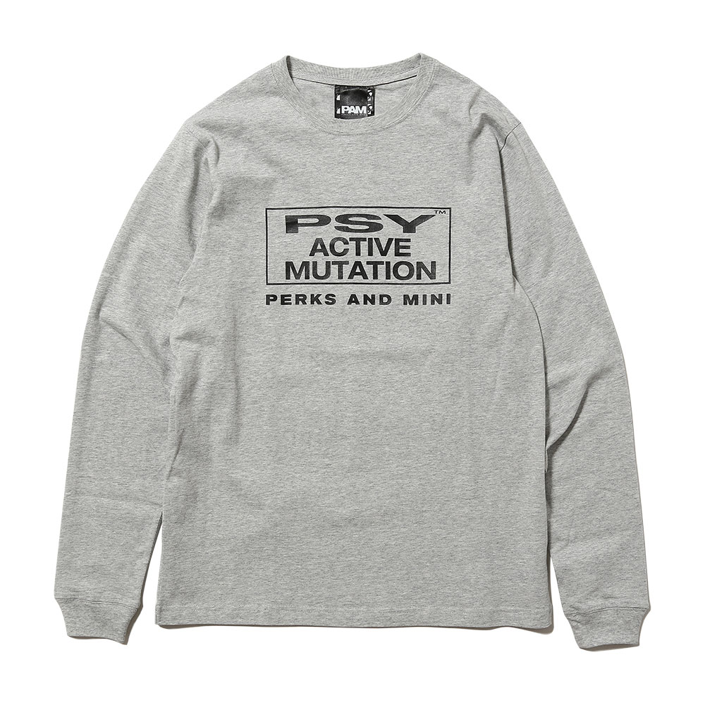 SUM OF IT'S PARTS LS TEE GREY MARLE