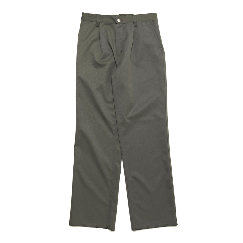 TAILORED MILITARY WOOL PANT WASHED SAGE