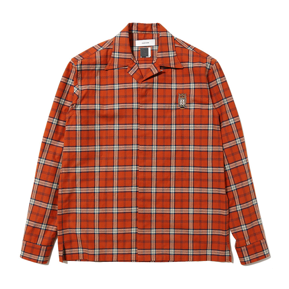 FLY FRONT CHECK SHIRT