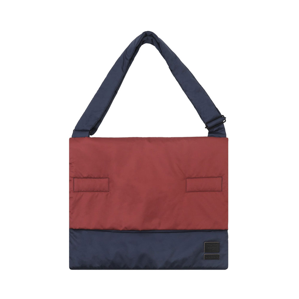 MARNI×PORTER SOFT SHOULDER TOTE BAG RED×BEIGE