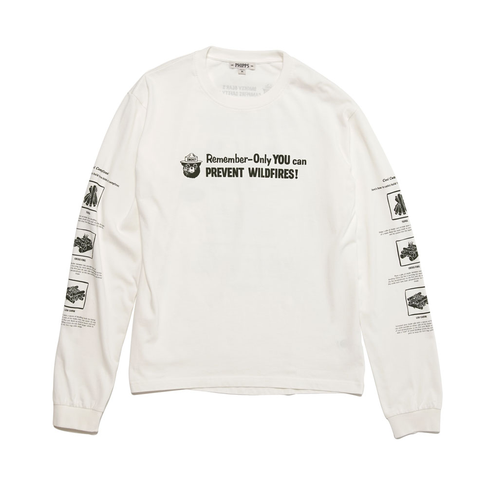 SMOKEY FIRE SAFETY T WHITE