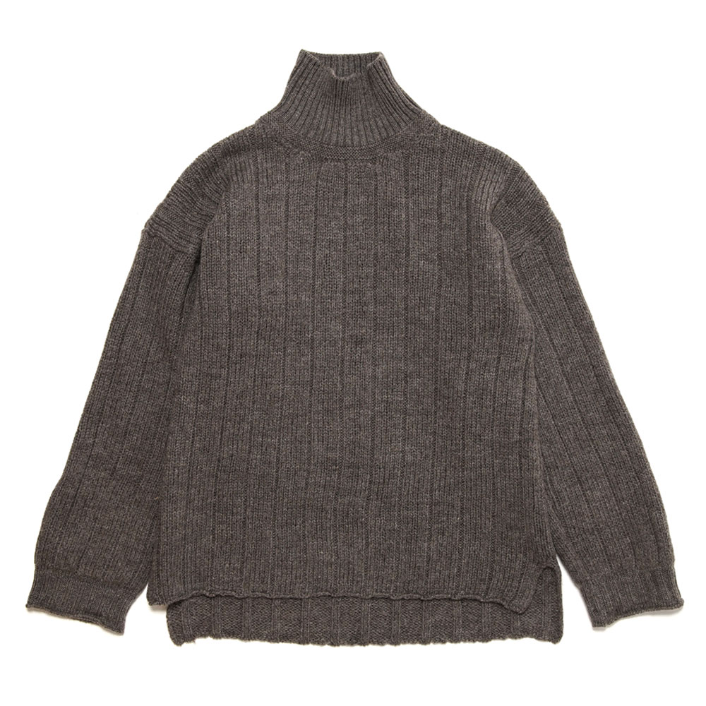 FORETRY ROLLNECK SWEATER BUSH GREY