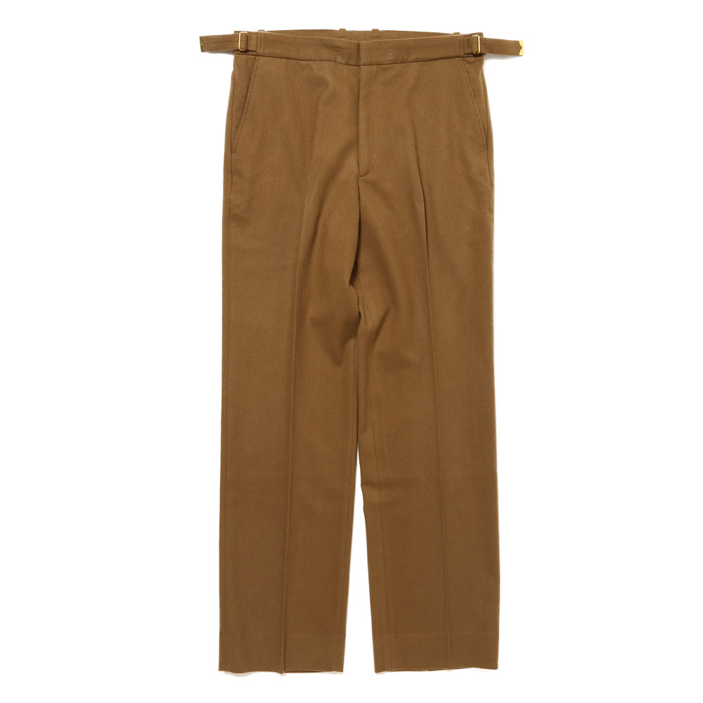 SUPER SOFT WOOL FLANNEL SLACKS KHAKI OLIVE