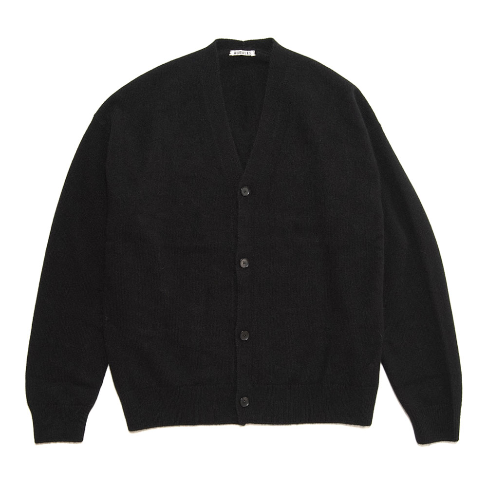 BABY CASHMERE KNIT CARDIGAN BLACK