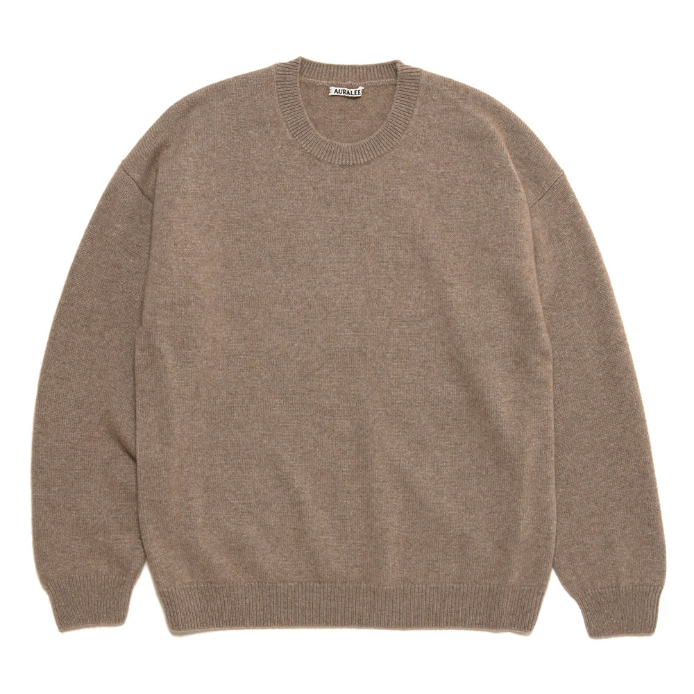 BABY CASHMERE KNIT NATURAL BROWN