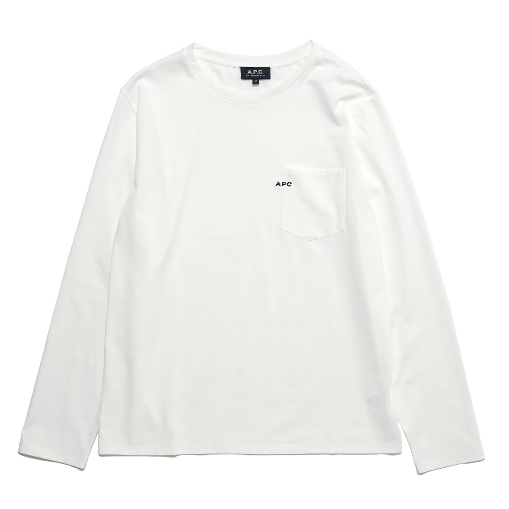 LOGO LONG SLEEVE T-SHIRT WHITE