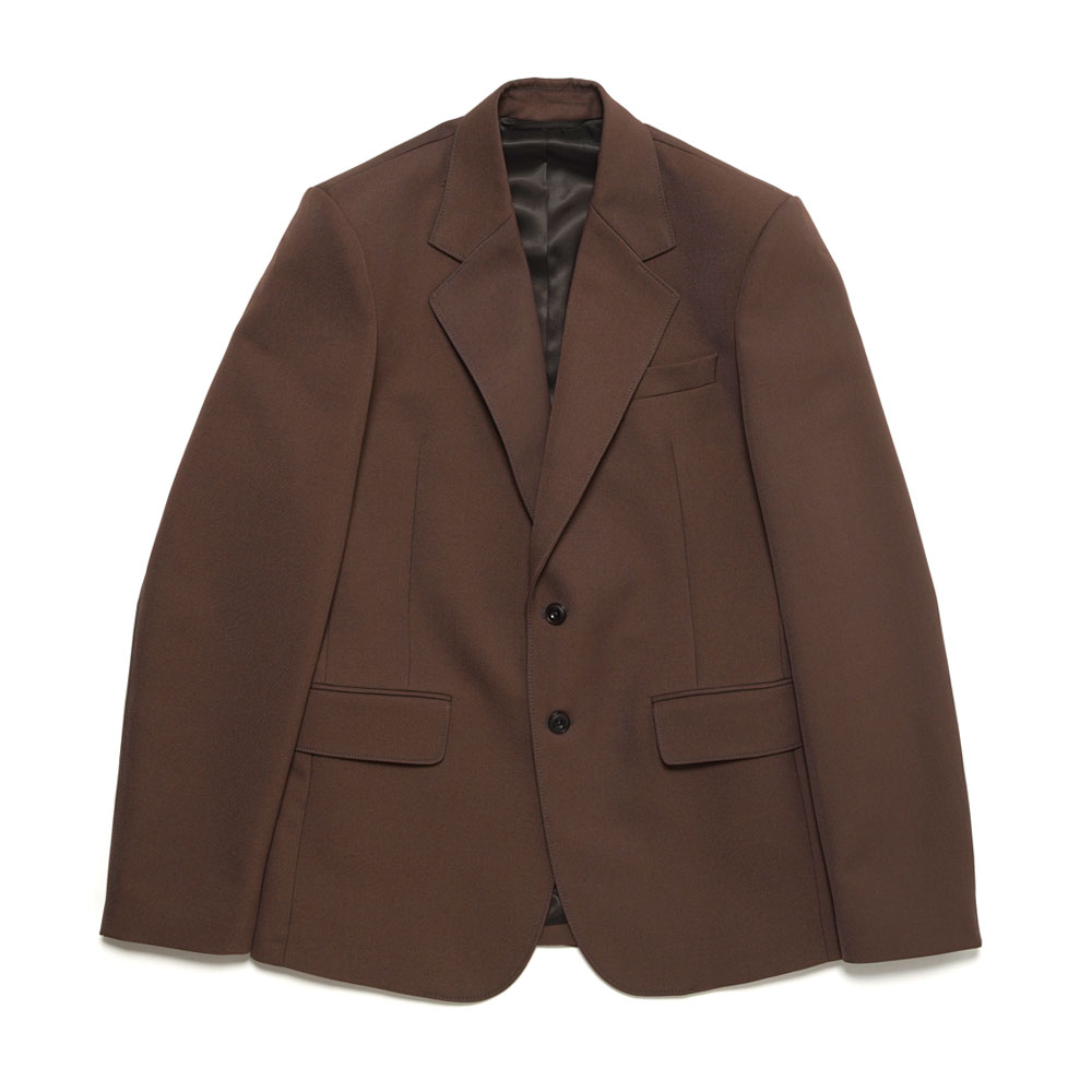 SLIM FIT SB JACKET RUSSET BROWN