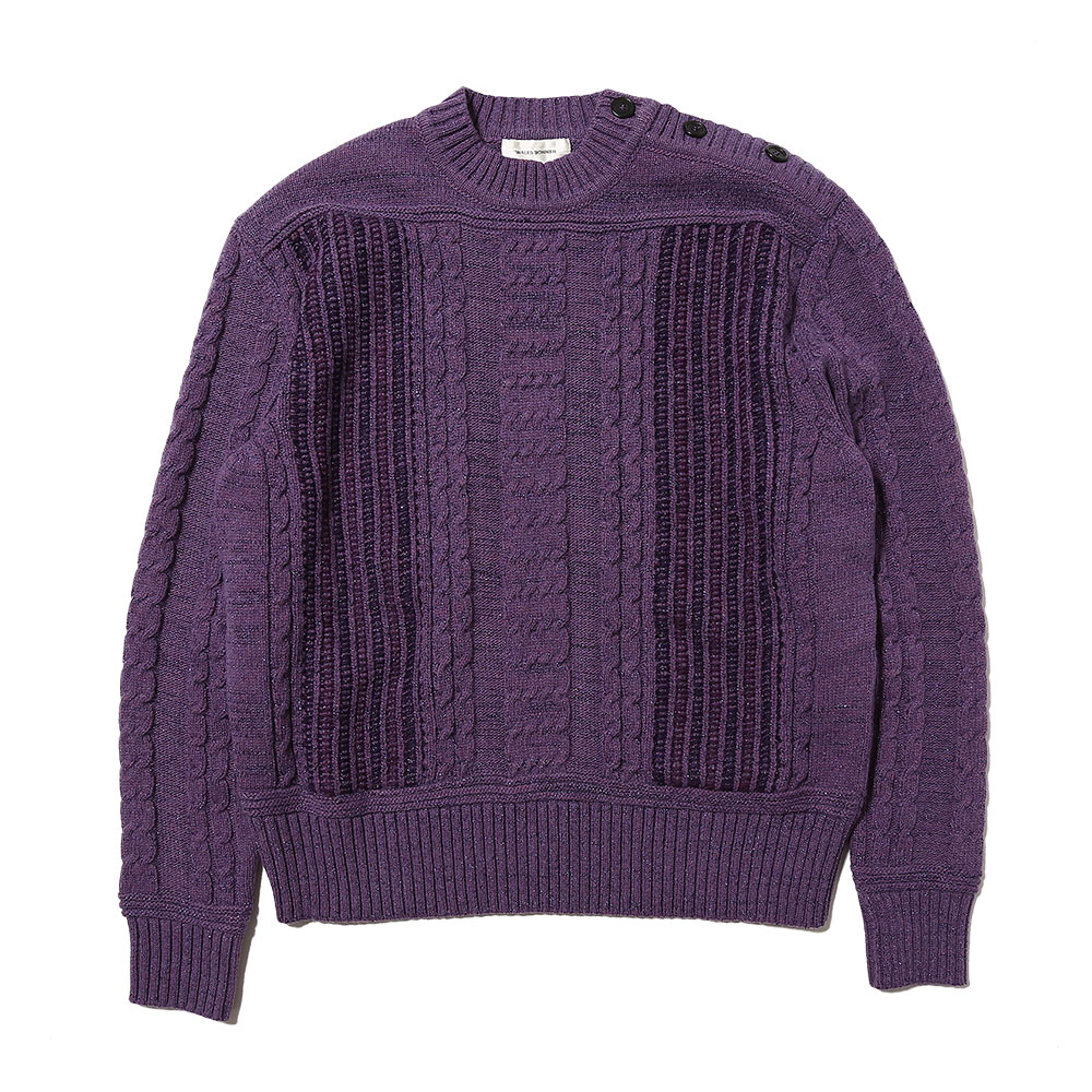 MAGIC GUERNSEY SWEATER