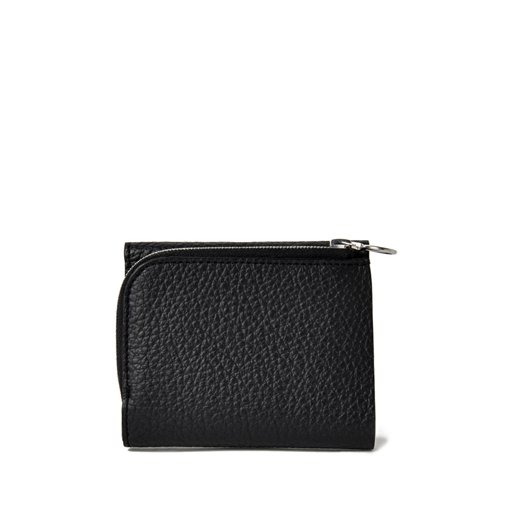 PG LEATHER WALLET TYPEA BLACK - PG15