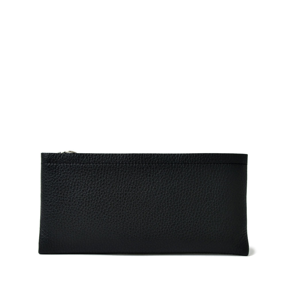 PG LEATHER LONG WALLET BLACK - PG17