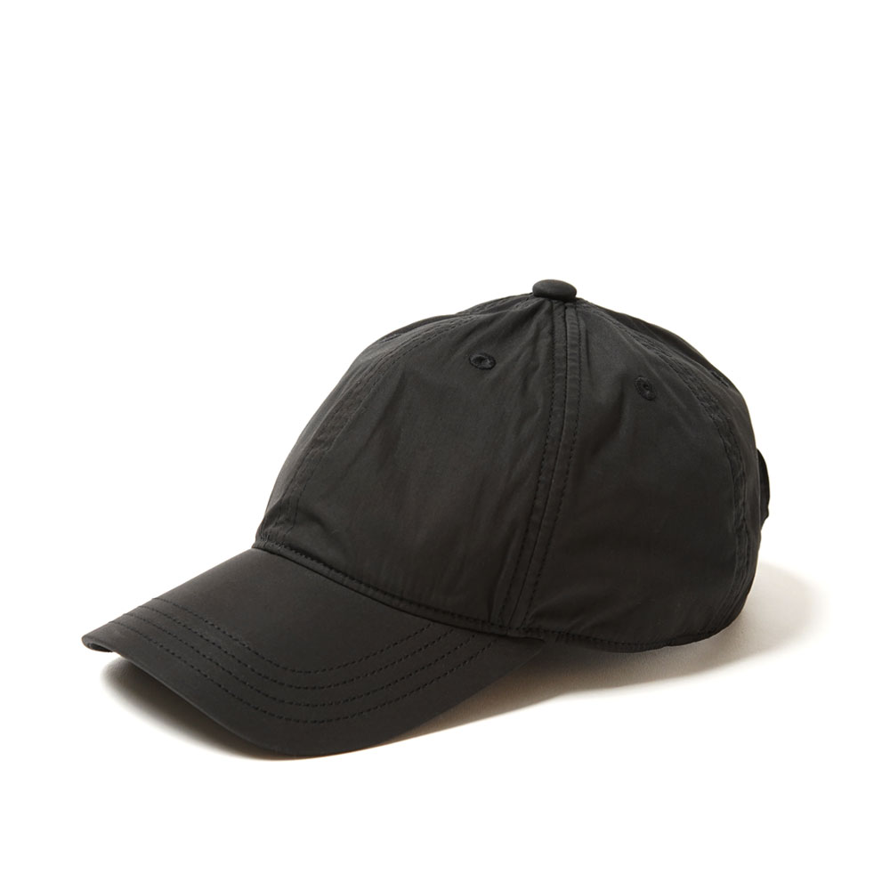 BALL CAP BLACK COTTON NYLON