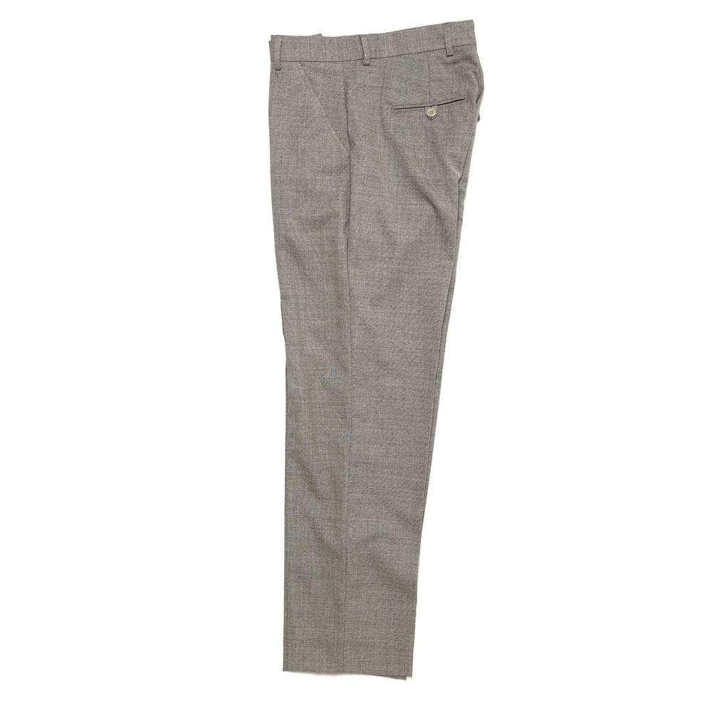 CHINO 22 LIGHT GREY MELANGE WOOL