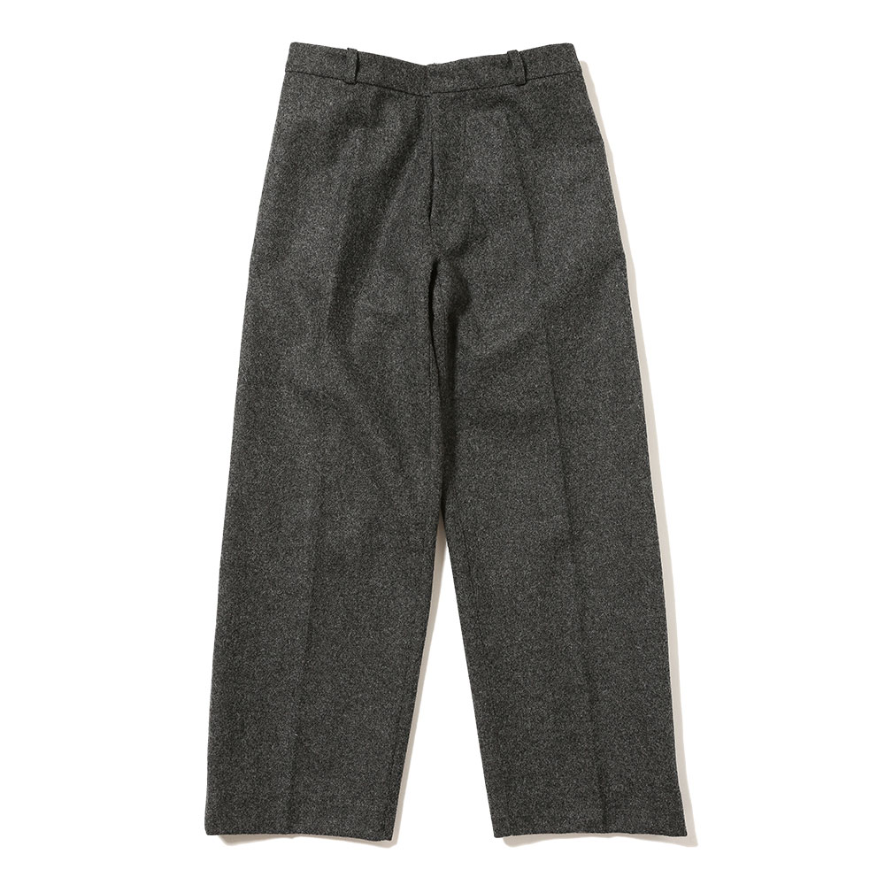WIDE LEG UTILITY PANT WITH VELVET STRIPE