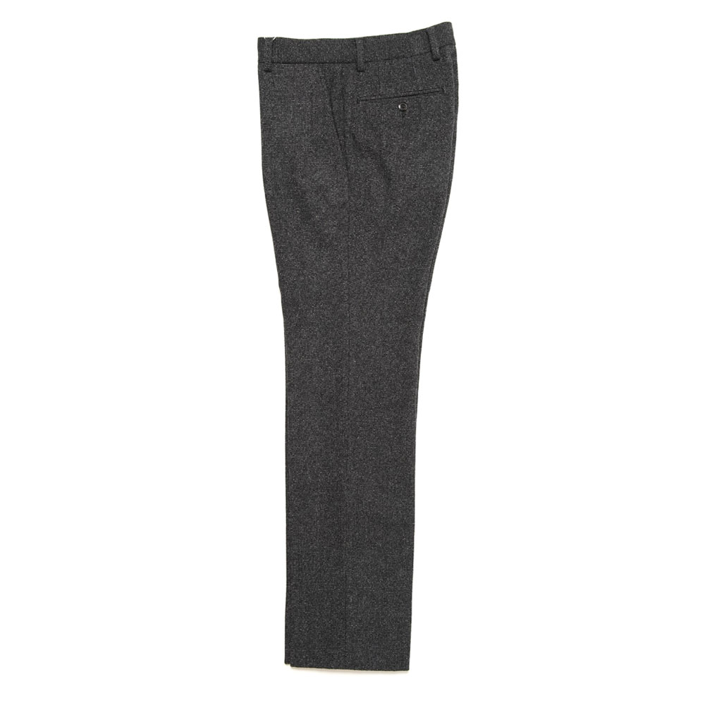 STANDARD PIN HEAD SLACKS BLACK