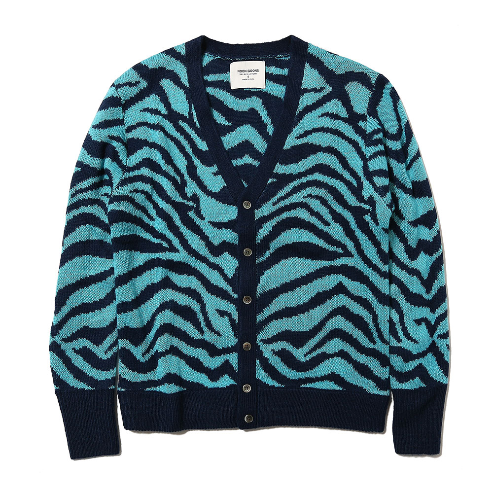 TIGER CARDIGAN NAVY/BLUE