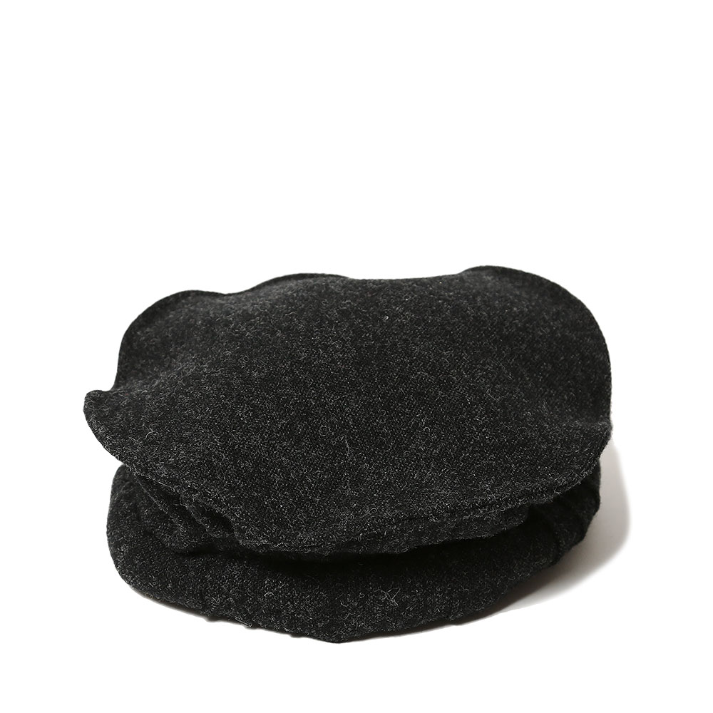 TWEED ORIENTAL BERET BLACK