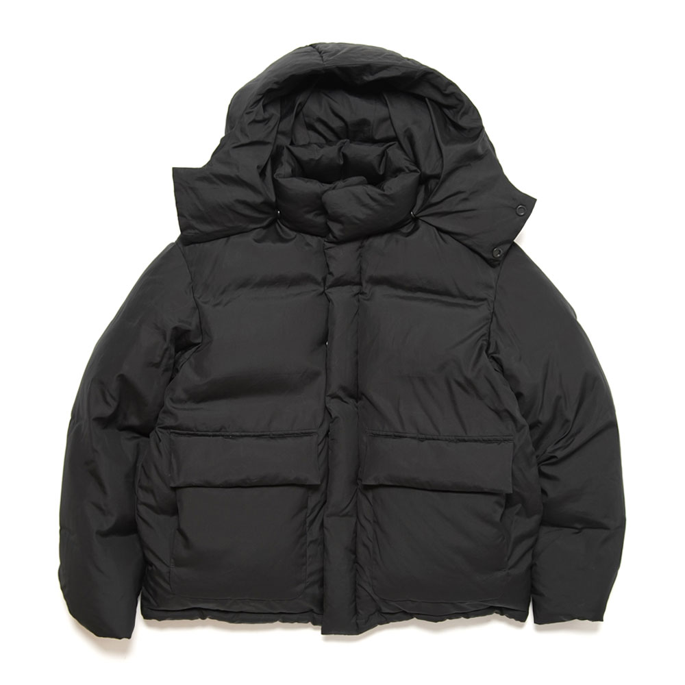 SUVIN HIGH COUNT CLOTH DOWN JACKET BLACK