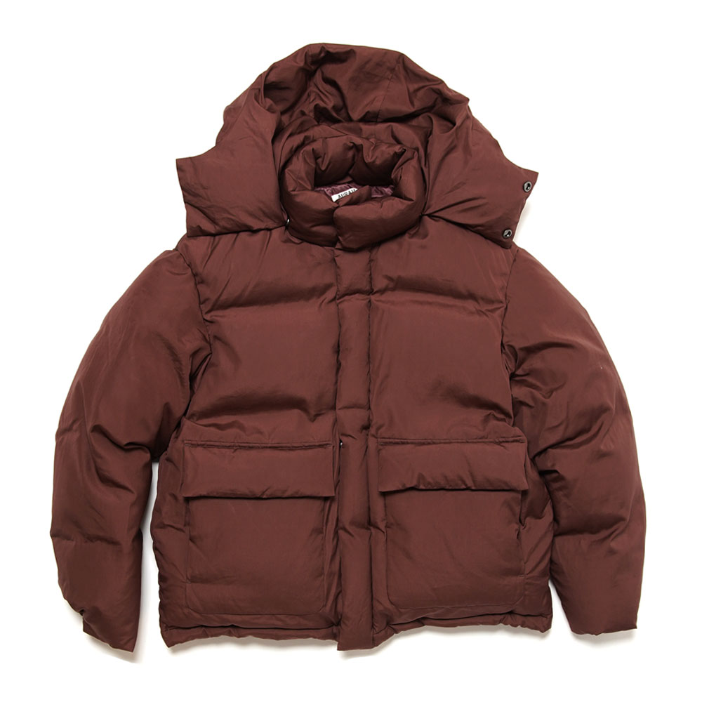 SUVIN HIGH COUNT CLOTH DOWN JACKET BORDEAUX
