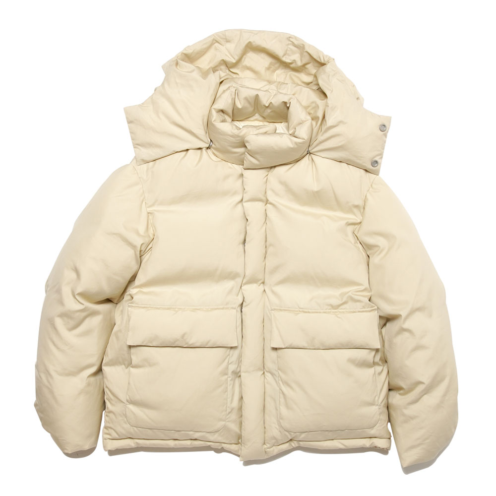SUVIN HIGH COUNT CLOTH DOWN JACKET IVORY