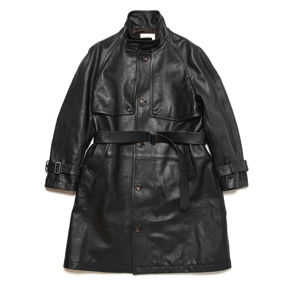 THIENE LEATHER DUSTER