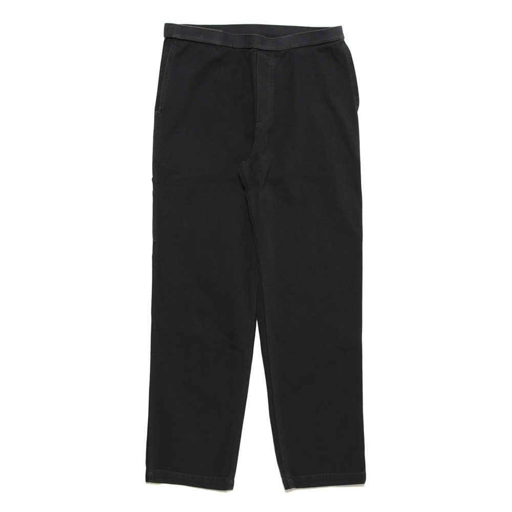 WASHED  H.W. S.W. CARPENTER PANTS BLACK
