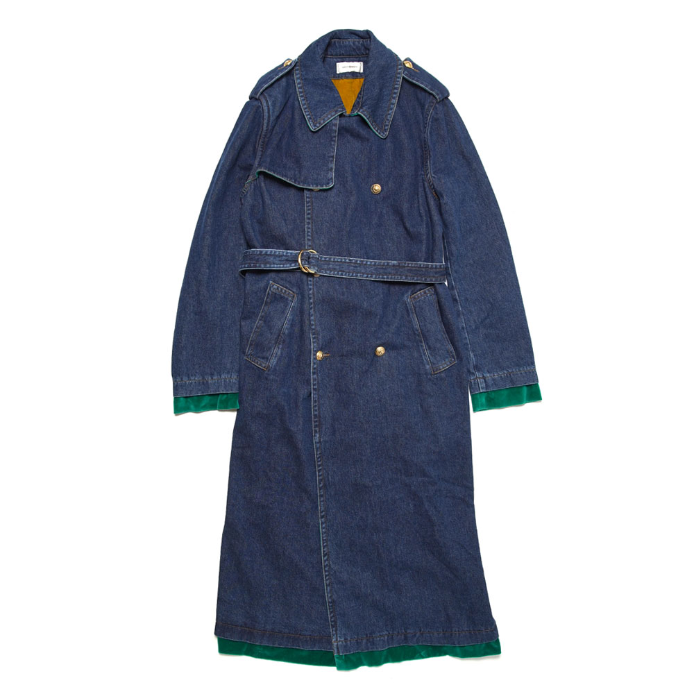 LLOYD MACINTOSH COAT INDIGO