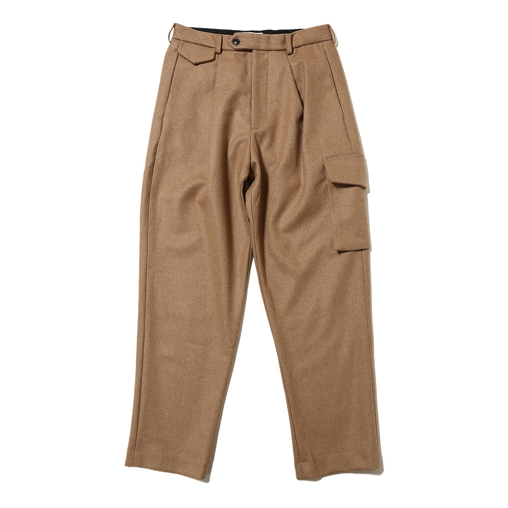 RELAXED TROUSERS BEIGE