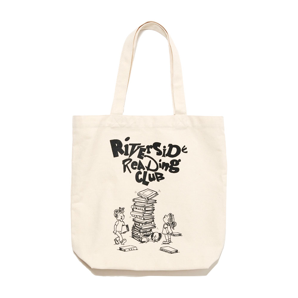 STACKS x RIVERSIDE READING CLUB TOTE BAG