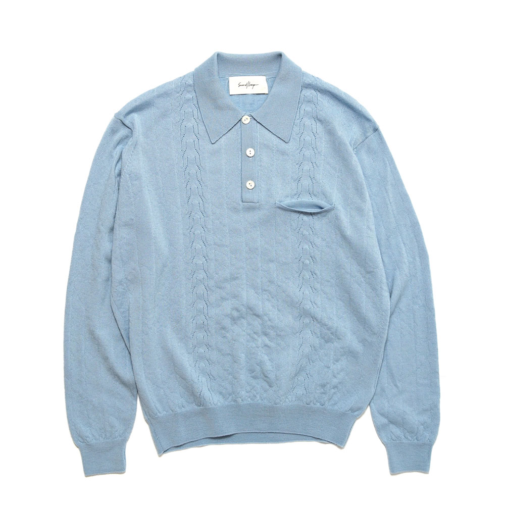 POLO SWEATER LIGHT SAGE