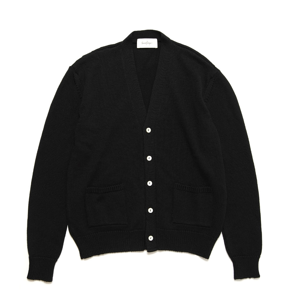 ROCKER CARDIGAN BLACK