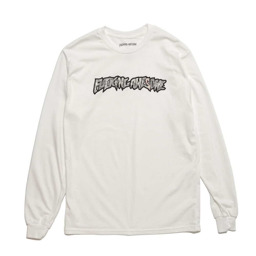 ACTUAL VISUAL GUIDANCE L/S TEE WHITE