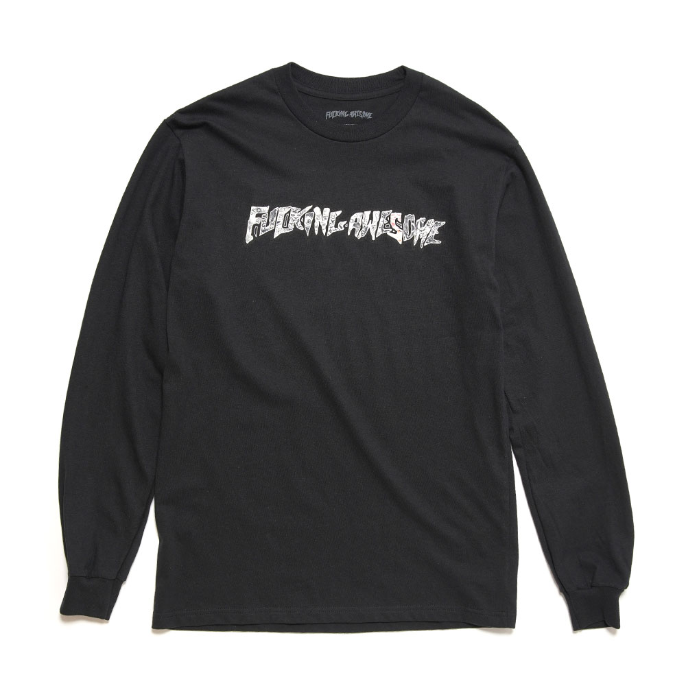 ACTUAL VISUAL GUIDANCE L/S TEE BLACK