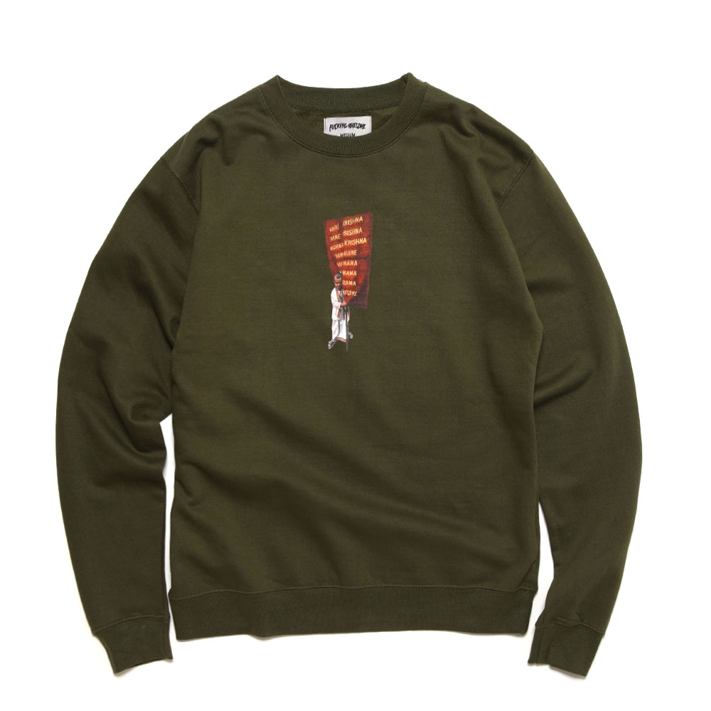 WEST OF ROME CREWNECK ARMY