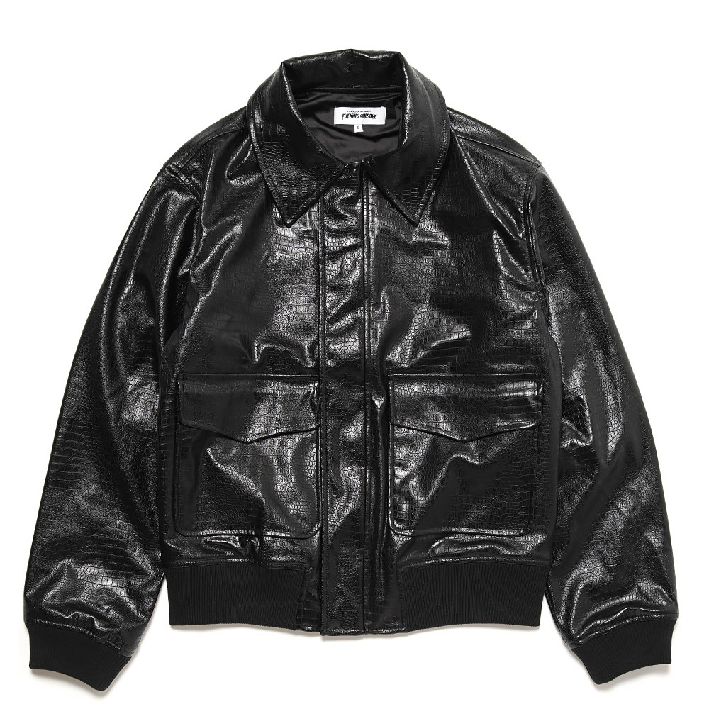 HOLLYWOOD FLIGHT JACKET BLACK