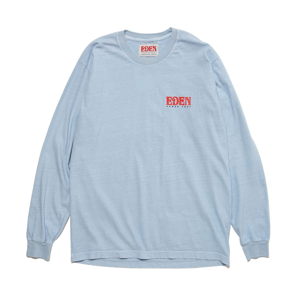 EDEN RECYCLED LONGSLEEVE LIGHT GREY