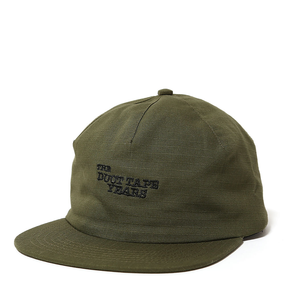 ONE PANEL SNAP BACK OLIVE