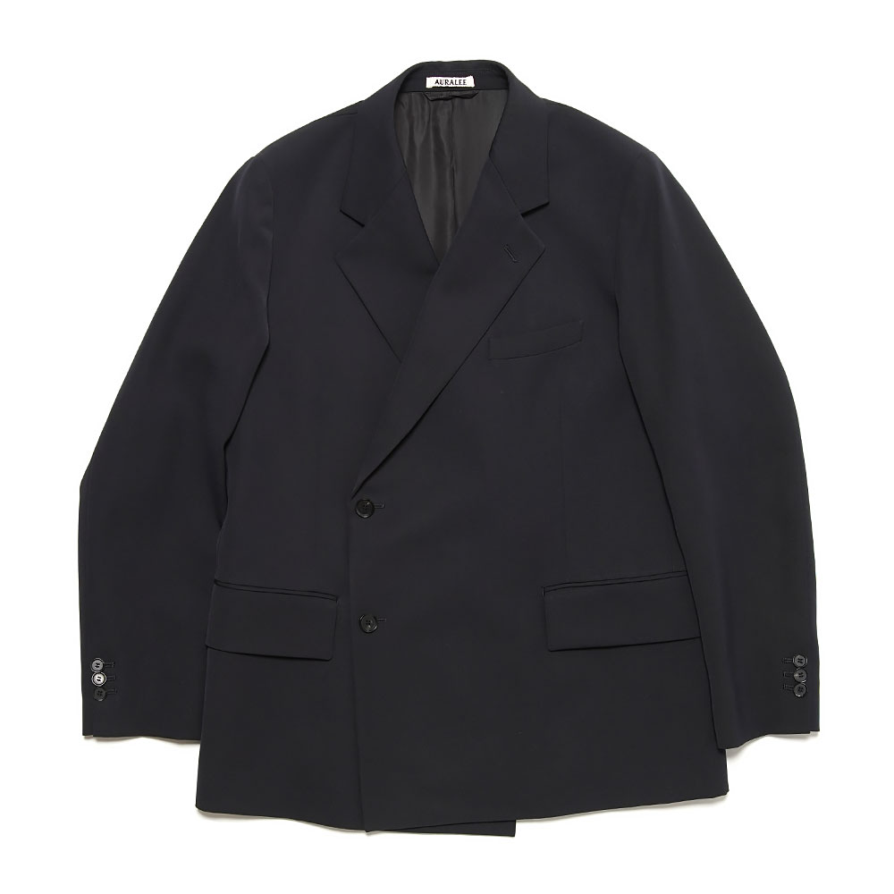 LIGHT WOOL MAX GABARDINE DOUBLE JACKET A21SJ01MG DARK NAVY