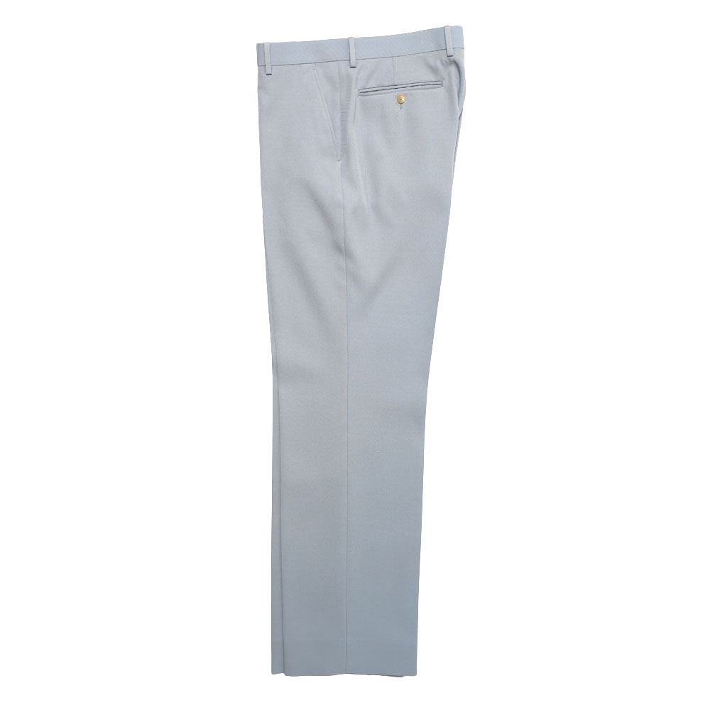 LIGHT WOOL MAX GABARDINE SLACKS A21S02MG BLUE GRAY